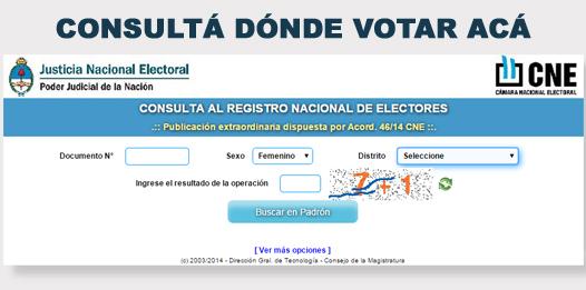 Resultado de imagen para padron electoral 2019